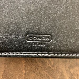 Coach Accessories - COACH Signature Leather Agenda Planner